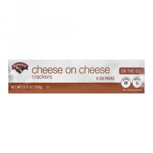 Hannaford Cheese on Cheese Crackers