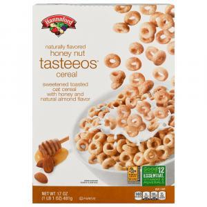 Hannaford Honeynut Tasteeos Cereal