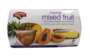 Hannaford Tropical Mixed Fruit Bowls