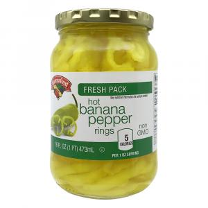 Hannaford Hot Banana Pepper Rings