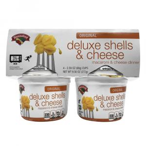 4-Pack Hannaford Deluxe Shells & Cheese Cups