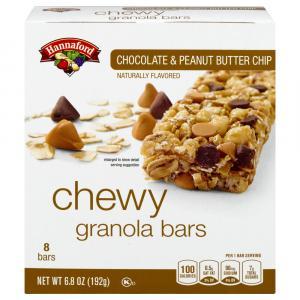 Hannaford Peanut Butter Chewy Granola Bars