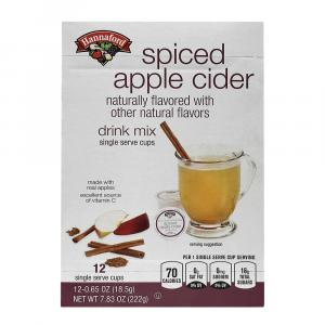 Hannaford Spiced Apple Cider Single Serve Cups