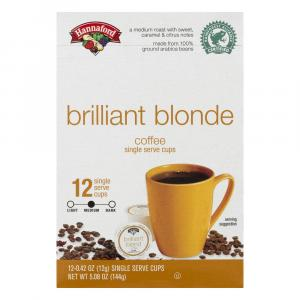 Hannaford Brilliant Blond Single Serving Cup