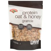 Hannaford Oat & Honey Protein Granola