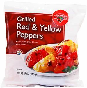 Hannaford Grilled Red & Yellow Peppers