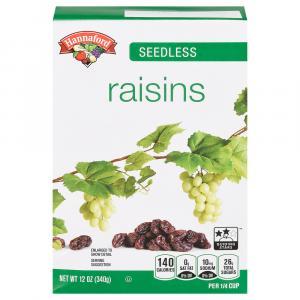 Hannaford Raisins