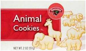 Hannaford Animal Cookies