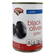 Hannaford Large Black Olives