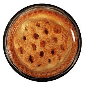 """Hannaford 8"""" No Sugar Added Apple Pie"""