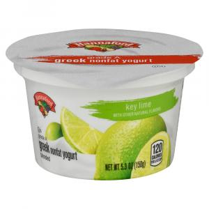 Hannaford Greek Nonfat Key Lime Yogurt