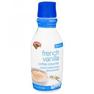 Hannaford French Vanilla Coffee Creamer