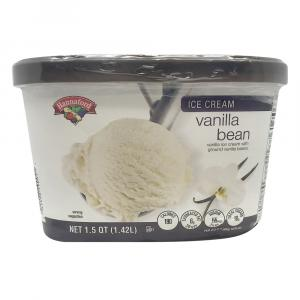 Hannaford Natural Vanilla Bean Ice Cream