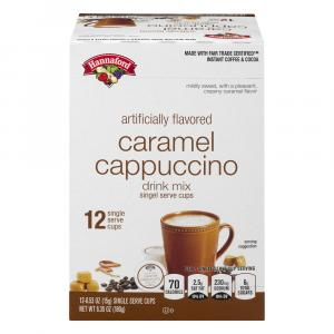 Hannaford Caramel Cappuccino Single Serve Cups