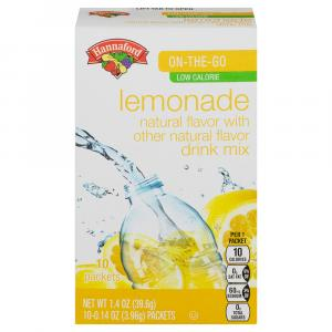 Hannaford Lemonade Drink Mix