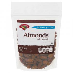 Hannaford Roasted & Salted Almonds
