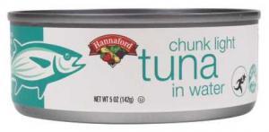 Hannaford Chunk Light Tuna In Water