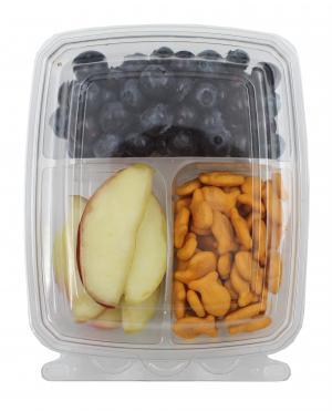Apples, Blueberries & Goldfish Snack Kit