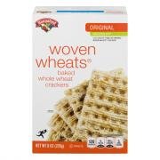 Hannaford Reduced Fat Woven Wheats Crackers