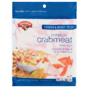 Hannaford Imitation Crab Flake
