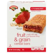 Hannaford Strawberry Cereal Bars