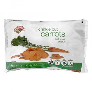 Hannaford Crinkle Cut Carrots