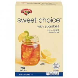 Hannaford Sucralose Sweetener Packets