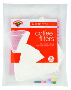 Hannaford #4 Cone Coffee Filters