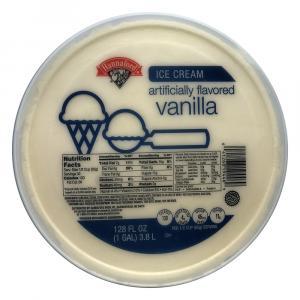Hannaford Vanilla Ice Cream