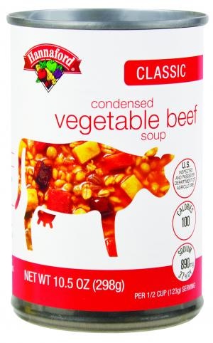 Hannaford Vegetable Beef Soup