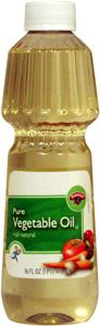 Hannaford Pure Vegetable Oil