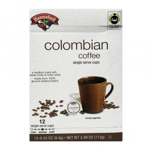 Hannaford Colombian Blend Coffee Single Serving Cup