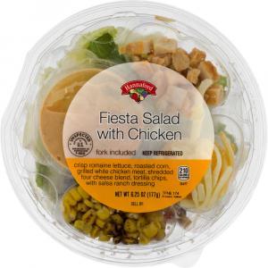 Hannaford Fiesta Salad with Chicken