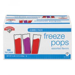 Hannaford Freeze Pops