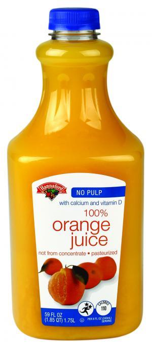 Hannaford Premium Orange Juice with Calcium