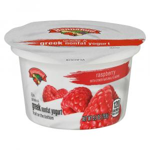 Hannaford Greek Nonfat Raspberry Yogurt