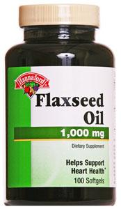 Hannaford Flaxseed Oil 1000 Mg Softgels