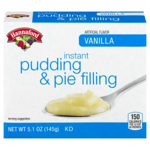 Hannaford Vanilla Instant Pudding