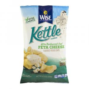 Wise Kettle 40% Reduced Fat Feta Chips