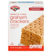Hannaford Cinnamon Graham Crackers