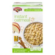 Hannaford Apple & Cinnamon Instant Oatmeal