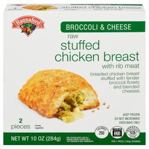 Hannaford Broccoli & Cheese Stuffed Chicken Breast