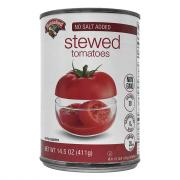 Hannaford No Salt Added Stewed Tomatoes