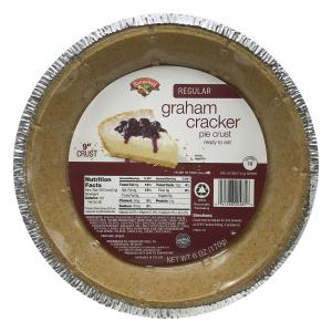 "Hannaford 9"" Graham Cracker Pie Crust"