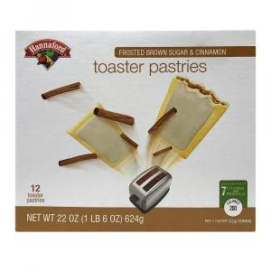 Hannaford Frosted Brown Sugar Toaster Pastries