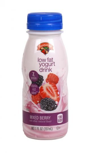 Hannaford Mixed Berry Lowfat Smoothie