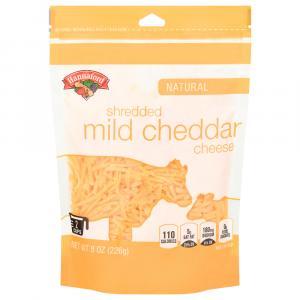 Hannaford Shredded Yellow Cheddar Cheese
