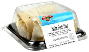 Hannaford Italian Pesto Wrap