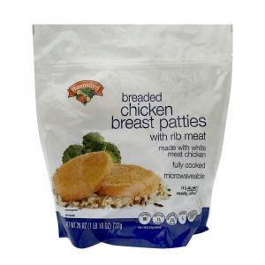 Hannaford Breaded Chicken Breast Patties