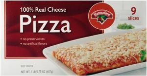 Hannaford 9 Slice Pizza